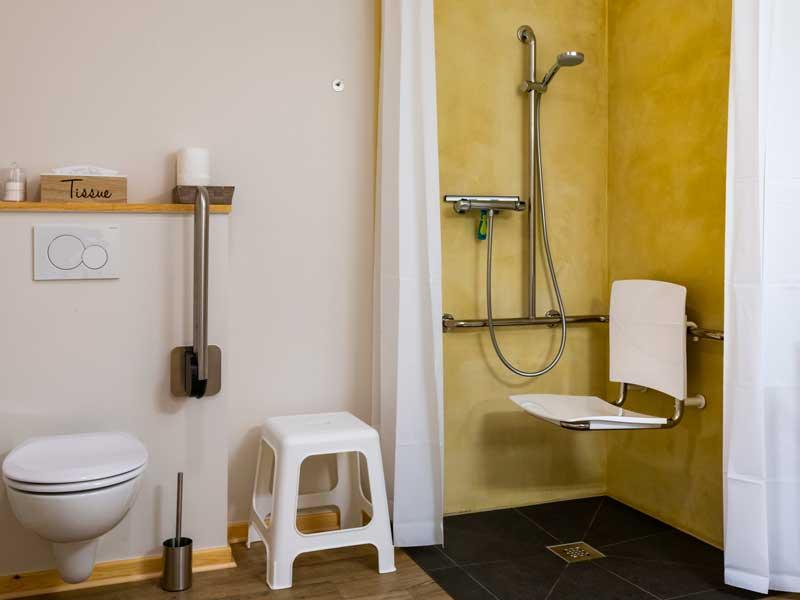 Morgenster - deze kamer maakt onze B&B rolstoeltoegankelijk